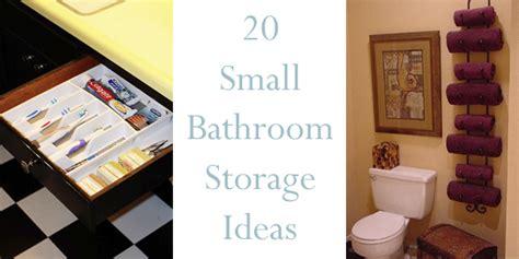 cool small bathroom storage organization ideas 20 20 creative storage ideas for a small bathroom organization