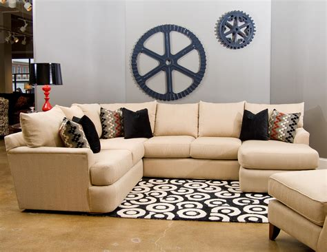 klaussner findley sectional klaussner findley sectional sofa with right arm chaise