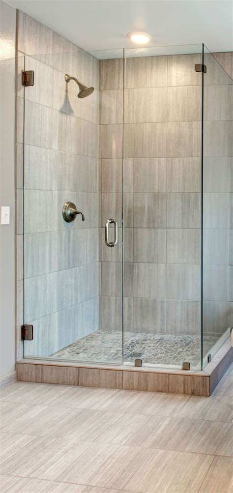 showers corner walk  shower ideas  simple small