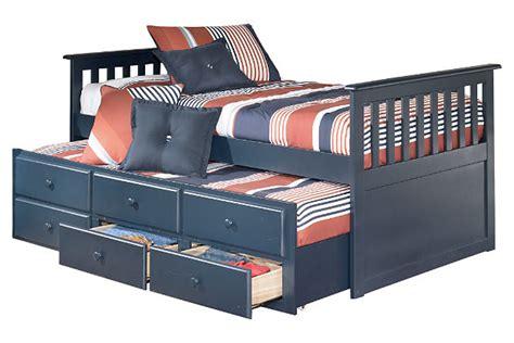 leo kids twin trundle bed ashley furniture homestore