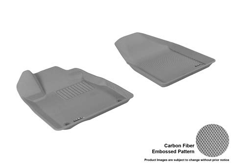 Acura Mdx Rubber Floor Mats by Maxpider 3d Rubber Molded Floor Mat For Acura Mdx 07 13