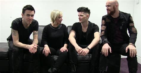 the script uk video the script reveal what they get up to between live