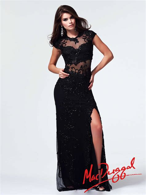 Mac Formal Black Collection by Mac Duggal Classically Modern Simply Page 2