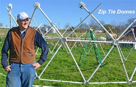 geodesic dome for drone testing and spider habitat