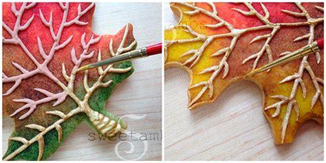 decorar hoja de vida c 243 mo decorar con glasa unas sofisticadas hojas de oto 241 o