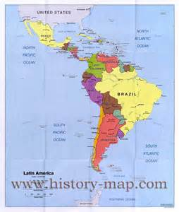 Map Latin America by 301 Moved Permanently