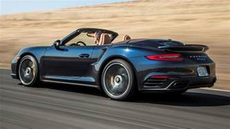 Porsche 911 S Turbo Porsche 911 Turbo S Cabriolet 2017 Us Wallpapers And Hd