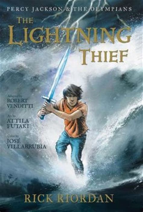 the book thief series 1 the lightning thief the graphic novel percy jackson and