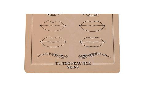 tattoo kits and practice skin beginner tattoo practice skin synthetic eyebrow pattern