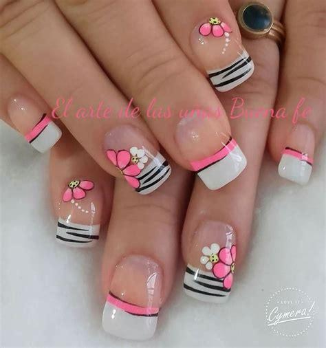 imagenes de uñas pintadas frances las 25 mejores ideas sobre dise 241 o de u 241 as en pinterest y