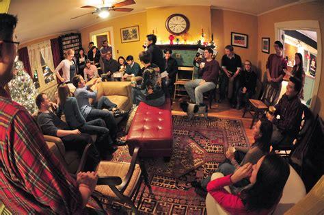 tricks transform small condo party venue