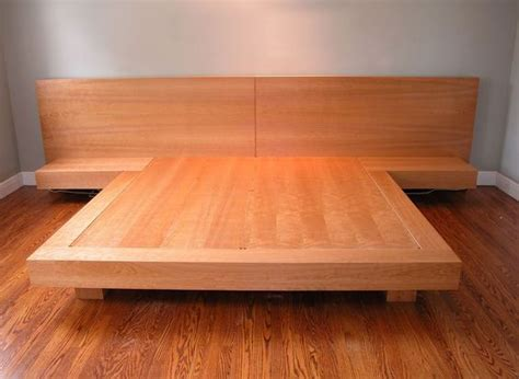 custom  king size platform bed projects