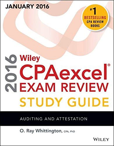 wiley cpaexcel review 2018 test bank auditing and attestation 1 year access books 1119119960 wiley cpaexcel review 2016 study guide