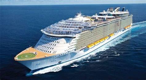 the world largest cruise ship my pakistan world s largest cruise ship harmony of the seas sets