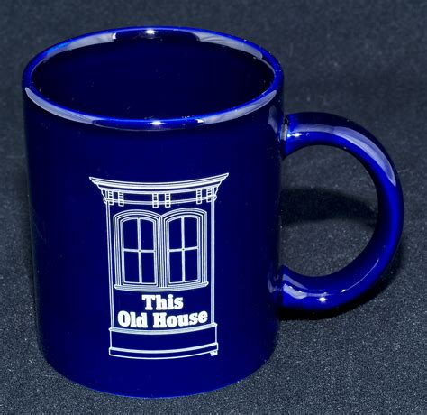 this old house le chat noir boutique this old house cobalt blue logo coffee mug misc coffee mugs