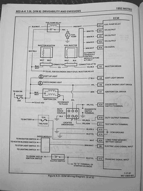 Geo Metro and Suzuki Swift Wiring Diagrams – MetroXFi.com