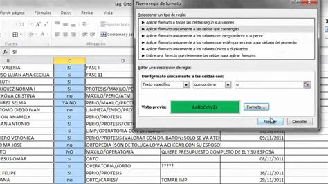 tutorial excel condicional si tutorial excel 2011 formato condicional youtube
