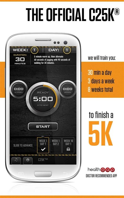 App From To 5k by C25k 174 5k Trainer Free Android Apps On Play