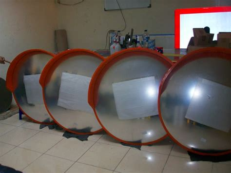Cermin Cembung Tikungan pabrik rambu jual rambu murah jual rambu lalu lintas jual rambu k3 rambu rppj rambu