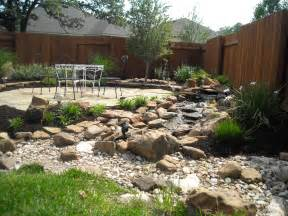 rock front yard triyae backyard design ideas with rocks various