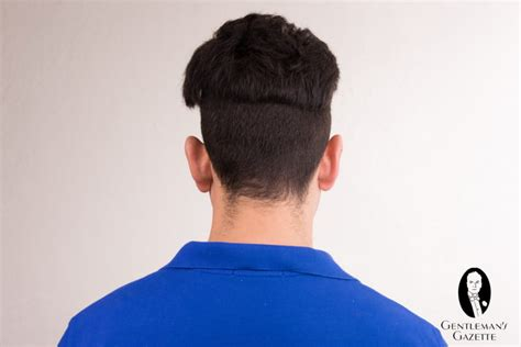 men hairstyle from behind disconnected undercut mens haircut undercut hairstyle