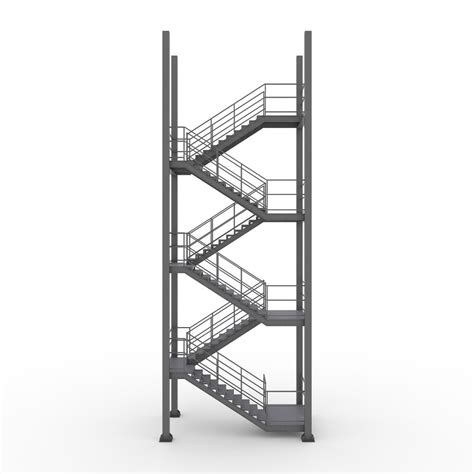 industrial stairs industrial stairs 3d max