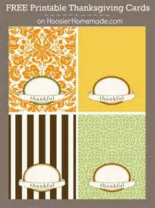 free printable thanksgiving cards hoosier