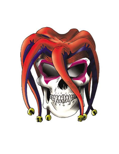 tattoo joker skull joker skull tattoo free design ideas