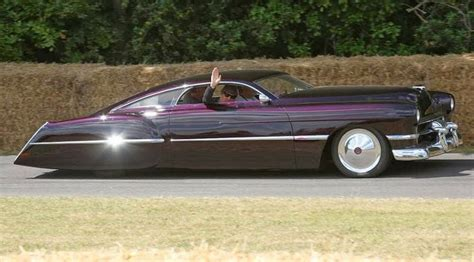 zz top garage cadillac sedanette cadzilla 1948 owned by billy gibbons