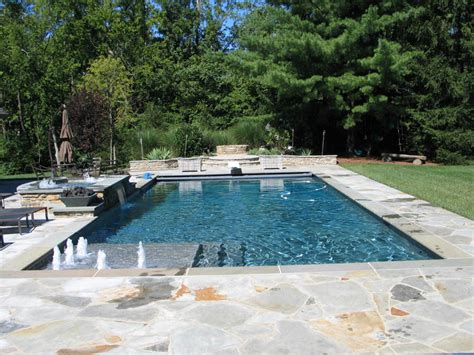 traditional pools mid american gunite pools