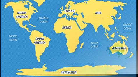 easy map of easy way to remember world map five steps