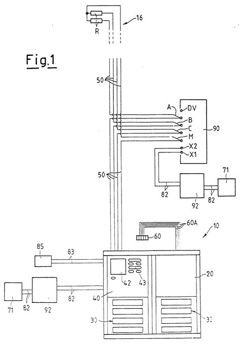 patent ep0876044a2 electric connection system for