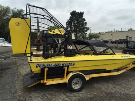 big boat with fan polar airboats ice rescue boat fan boat airboat with 295