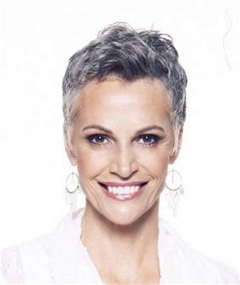 Short Salt And Pepper Hair | photos of short haircuts for older women short