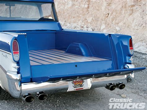 truck bed cer 1957 chevy cameo pickup truck hot rod network