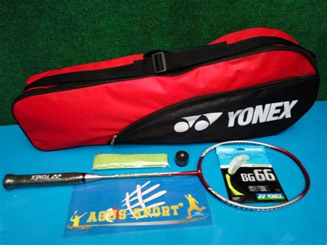 Raket Badminton Original Nanoray D26 jual beli raket badminton yonex original nanoray d27 baru