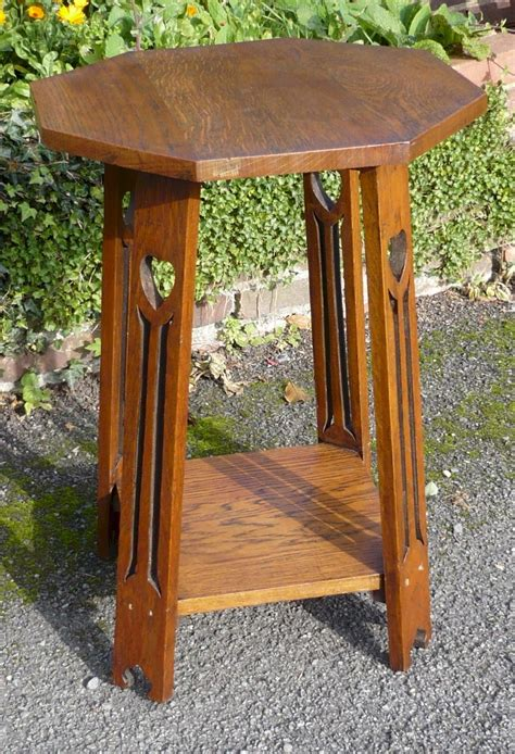 and crafts table arts and crafts side table in golden oak antiques atlas