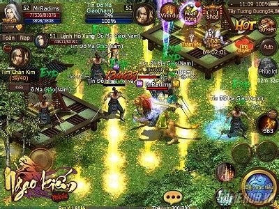 nhung game mod cho android những si 234 u phẩm game online cho android 2014 hay nhất