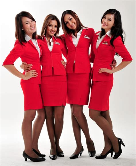 airasia uniform insight flying airasia x from kuala lumpur to london