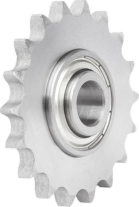 cadenas para ruedas de maquinas norelem ruedas tensoras para cadena con rodamiento de bolas