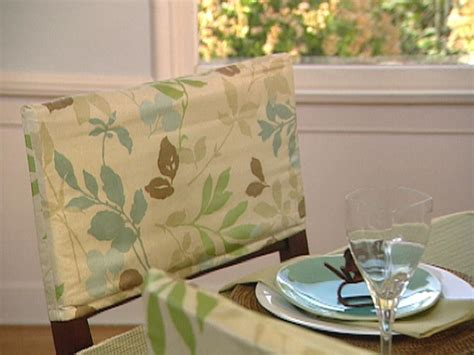 how to make easy slipcovers for dining room chairs dining chair slipcovers hgtv