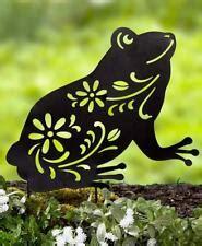 frog garden stakes ornaments ebay