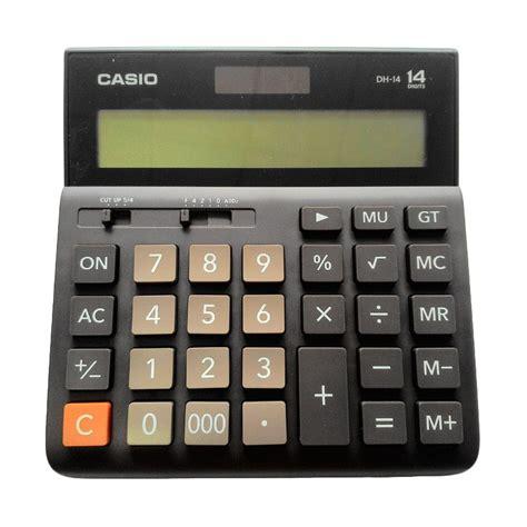 jual casio dh 14 calculator harga kualitas