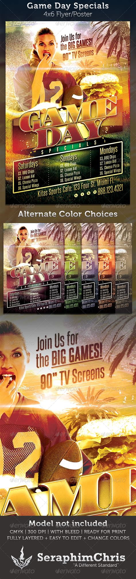 Tailgate Party Flyer Template 187 Tinkytyler Org Stock Photos Graphics Specials Flyer Template
