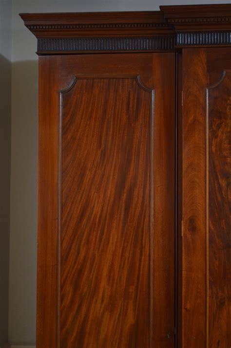 Regency Wardrobe Doors by Excellent Regency 4 Door Mahogany Wardrobe Antiques Atlas