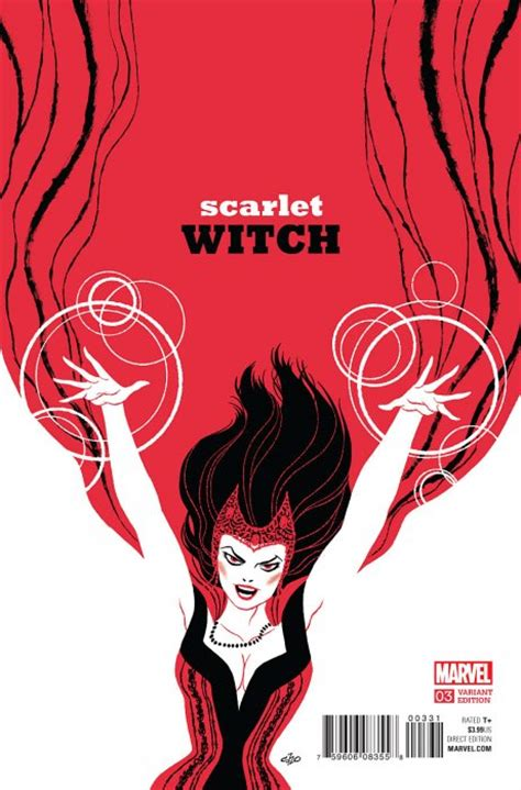 E M O R Y Scarlet Series 11emo148 scarlet witch 6 marvel comicbookrealm