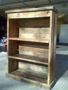 How To Make Bookshelves Out Of Pallets The Classic 4ft Pallet Bookcase Pretty Wood Pallets