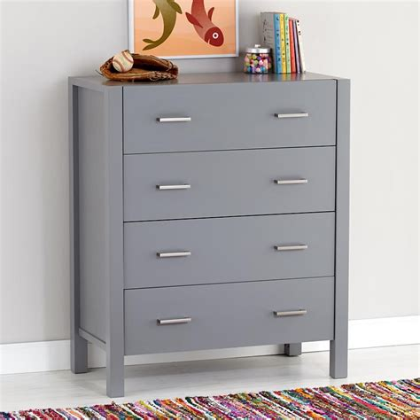 Gray Dresser by The In Furniture Textiles And Decor