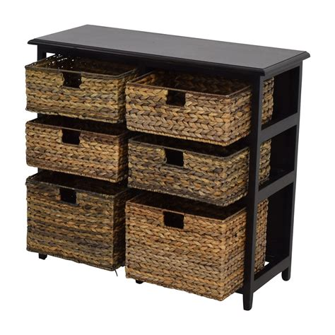 wicker storage drawers 41 off pier 1 imports pier 1 imports black wicker