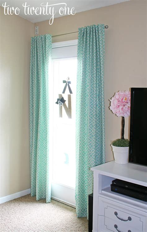 making door curtains how to make curtains diy two twenty one